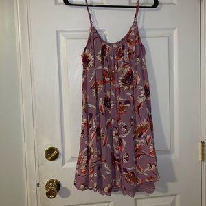 NWOT Xhilaration (Target) floral dress. Size XS